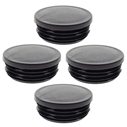 Pack of 4 Frame Tube Hole Plugs Rear Wheel Well for 1999-2018 Chevy Silverado GMC Sierra 1500 Car Frame Pipe Stopper Rear Wheel Well Covers