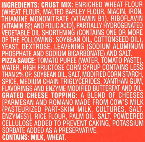 Chef Boyardee Pizza Kit, Cheese, 1 kit [31.85 oz (1 lb 15.85 oz) 902 g]