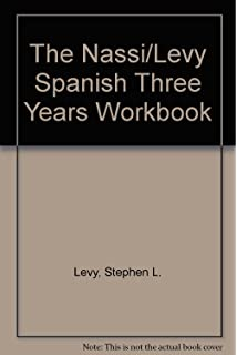 Amazon workbook in spanish three years revised edition the nassilevy spanish three years workbook fandeluxe Images