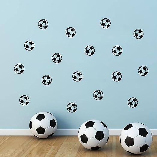 ufengke® Pequeña Fútbol Balones Pegatinas de Pared, Vivero ...