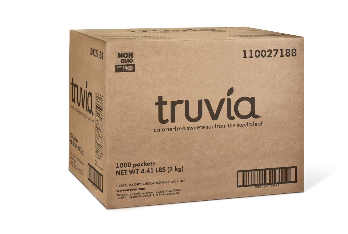 Amazon Truvia Natural Stevia Sweetener Packets 1 000 Count