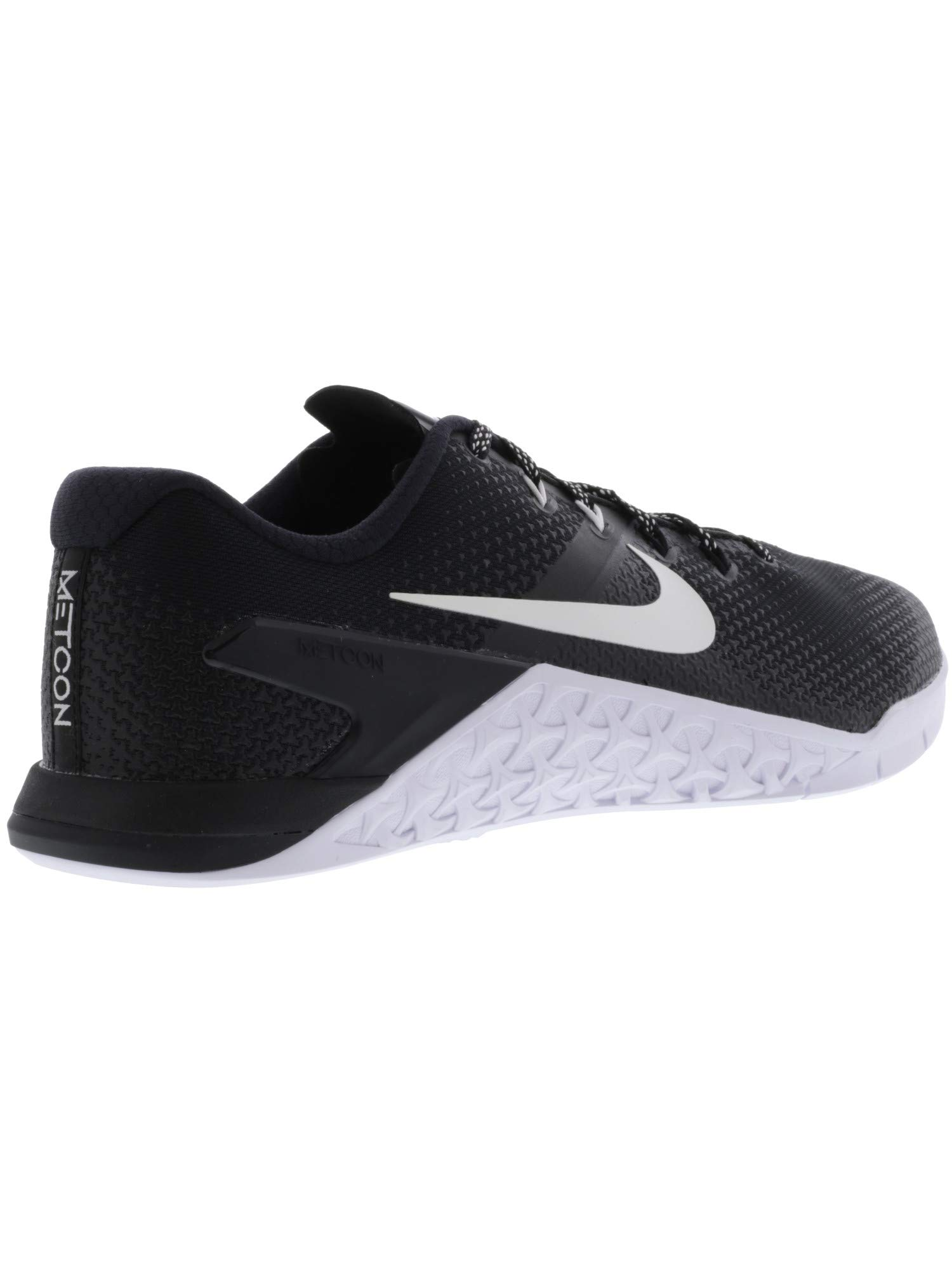 Nike Men's Metcon 4 Black/White Ankle-High Cross Trainer Shoe - 7M by Nike (Image #5)