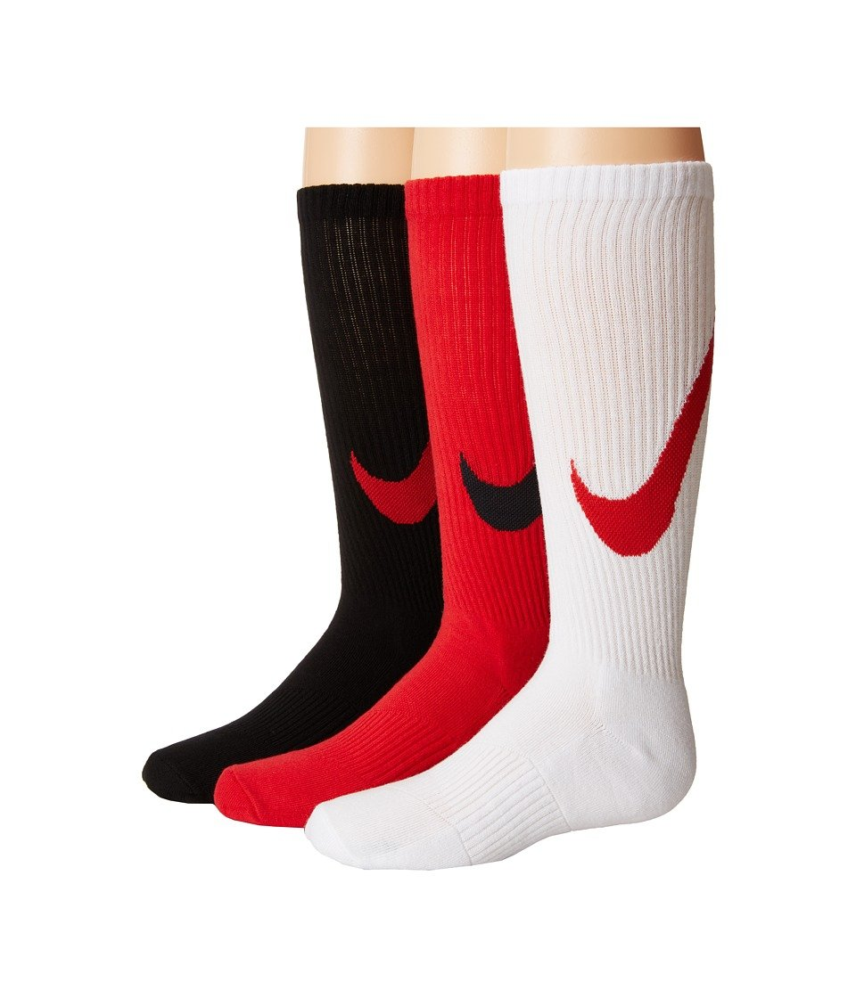 Nike 3P YTH Boys Graphic CTN Cush - Pack 3 Pares Calcetines ...