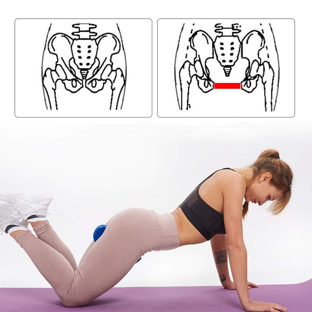 Correction Buttocks Beauty Training,Pelvic Floor Muscle Fitness Equipment,Postpartum Rehabilitation JIAJIAKONG Massage Clamp Inner Thigh Exerciser