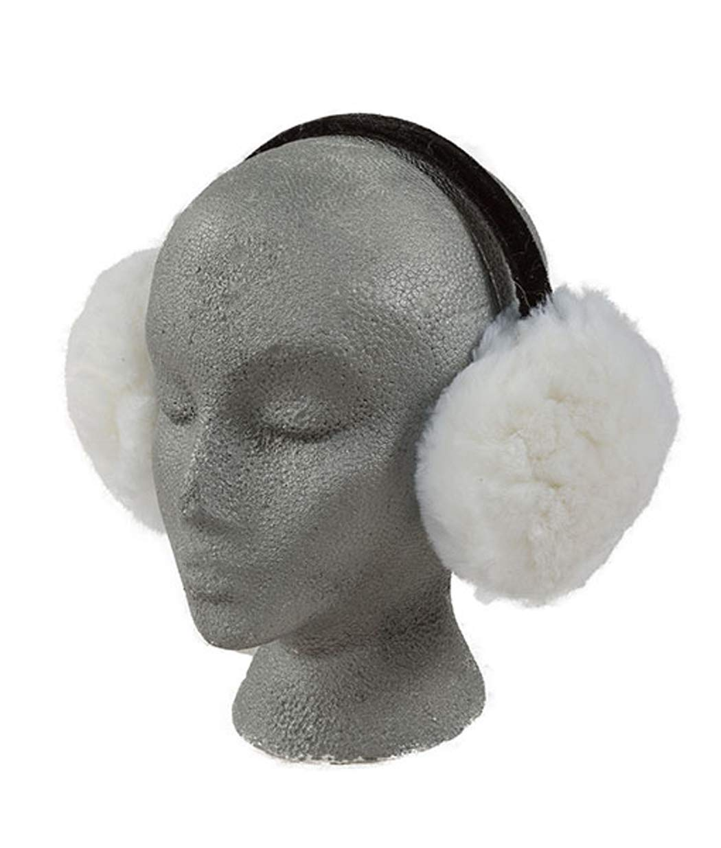 Engel Sheepskin Deluxe Ear Muffs (White)