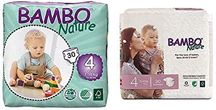Top 10 Bambo Nature Baby Diapers Classic Size 4