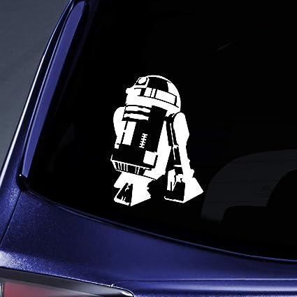 2b057e37e2b5 Amazon.com: Bargain Max Decals Star Robot Silhouette Sticker Decal ...