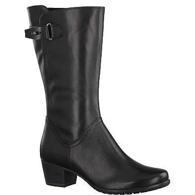 d43173ac8b6 MARCO TOZZI - Bottes en Cuir Femme 25519-21 - Bottes Bottines - 36 au 41   Amazon.fr  Chaussures et Sacs