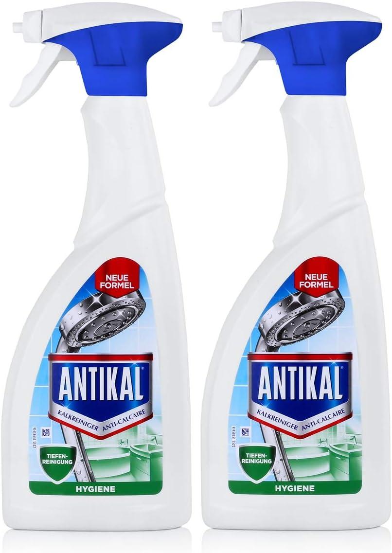 Antikal cal limpiador hygien Spray 700 ml – Elimina la cal (2 ...