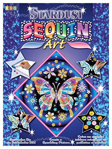 (Sequin Art Stardust, Butterfly, Sparkling Arts and Crafts w/ Glitter, Creative)