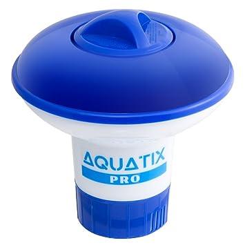 Aquatix Pro Dispensador de bromo para Piscina Ofrece un dispensador de Cloro Flotante de Primera Calidad