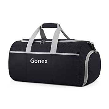 reasonable price later hot products Gonex 50L Packable Travel Duffle, Lightweight Luggage Duffel Sports Gym Bag  with Shoe Compartment