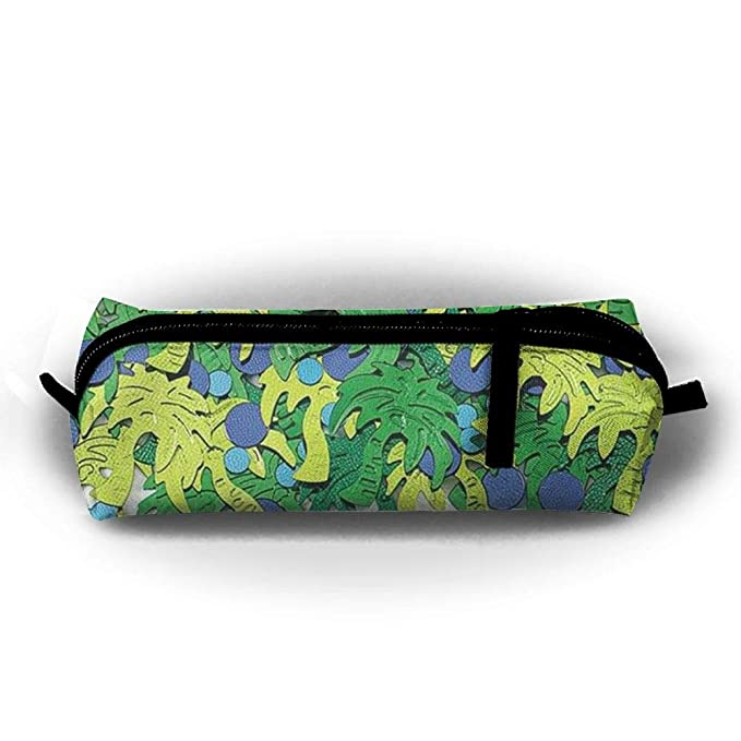 amazon com cartoon palm tree stationery pouch cosmetic office