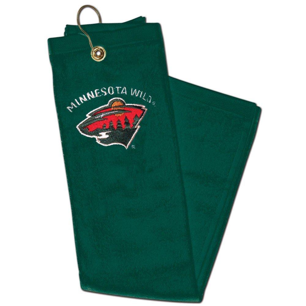 WinCraft NHL Minnesota Wild A99334 Embroidered Golf Towel 15 x 25