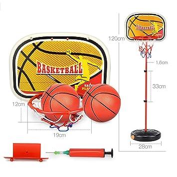 XINGLIAN Canasta de Baloncesto Altura Ajustable Los 55-120cm ...