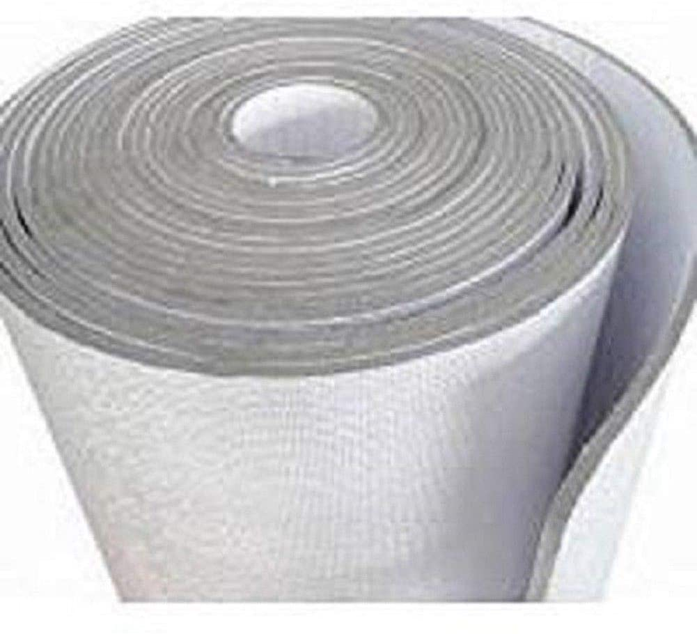 1//4 inch Thick USA Made Meets Fire Code US Energy Reflective Foam Core Insulation Garage Door White Foil 21 Inch x 18ft Roll White//Foil Finish AD5