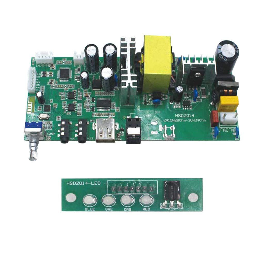 Amazon.com: Bluetooth 4.2 Audio Digital Amplifier Board 215W ...