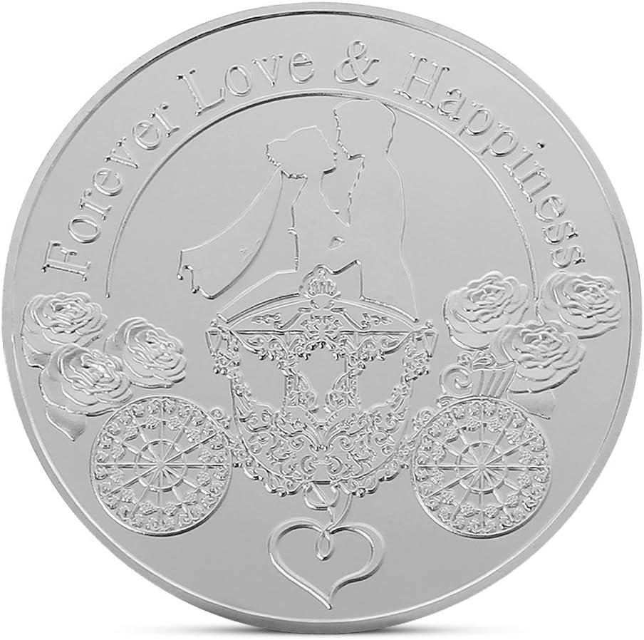 cicianco - Moneda de Amor española con Revestimiento de Plata ...