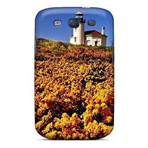 Perfect Wildflowers Lighthouse Case Cover Skin For Galaxy S3 Phone Case