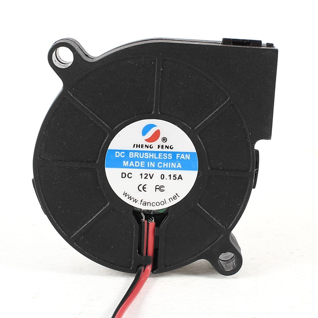 DC 12V 0.15A 2 Pin Connector Cooling Blower Fan 50mmx15mm for Laptop
