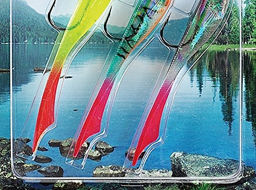 FLADEN 3 x CONRAD SOFT Quality Imitation Bait Fish Lure for Predatory Fishing 15g 16-7522 Perch and Zander For Pike
