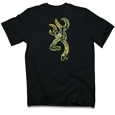 7a8761b8b068b Browning Men s Buckmark Camo Fill Short Sleeve T Shirt