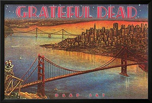 Grateful Dead - Dead Set Lamina Framed Poster