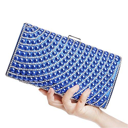 Women's Dress Color Clutch Bag Lady's 4 Square Bag HKC Diamond 4 Evening Bag Dinner nIaq0p1pF