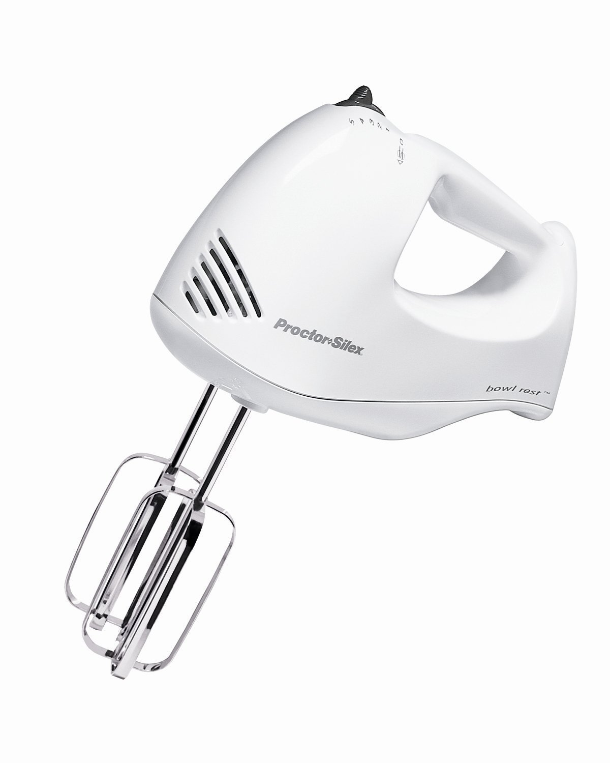 Bowl Rest™ Hand Mixer & Case Proctor Silex 62545