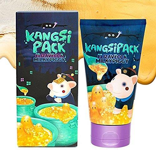 Elizavecca-Milky-Piggy-Kangsi-Pack-Wrinkle-care-Deep-Cleansing-24K-Gold-Facial-Mask-Anti-Aging-Pore-Minimizing-Blackhead-removing-Moisturizing-and-Brightening-Facial-Treatment