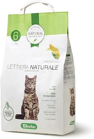 Natural Derma Pet Arenero Natural: Amazon.es: Productos para mascotas