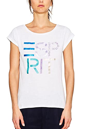 ESPRIT 067ee1k071, Camiseta para Mujer
