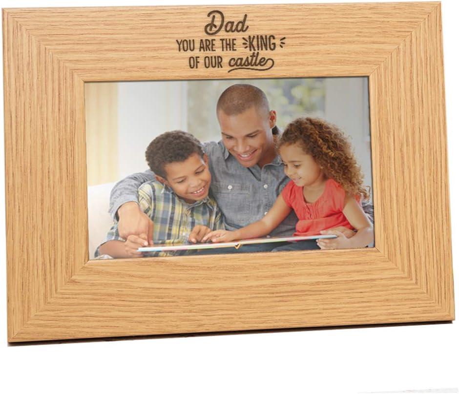 Birthday Gift Son Best Son Ever Keepsake Engraved Natural Wood Frame