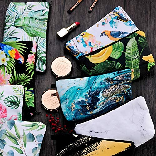 Cosmetic Bags for Women Functional Makeup Bags Small Makeup Pouch Travel bags Toiletries Case Durable Waterproof bags Accessories Organizer Fashion Gifts for Women, Gifts for Girl