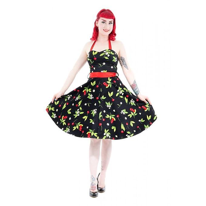 pretty nice 517a8 79ecb Hearts & Roses anni 50 pin Up Cherry Ciliegie Swing vestito ...