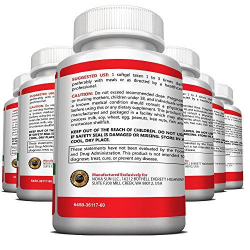 Non GMO Cranberry Concentrate Supplement Pills for Urinary Tract Infection UTI. Equals 12600mg Cranberries. Triple Strength Kidney Bladder Health for Men & Women. Easy to Swallow Softgels, 6 Bottles by Pure Healthland (Image #6)