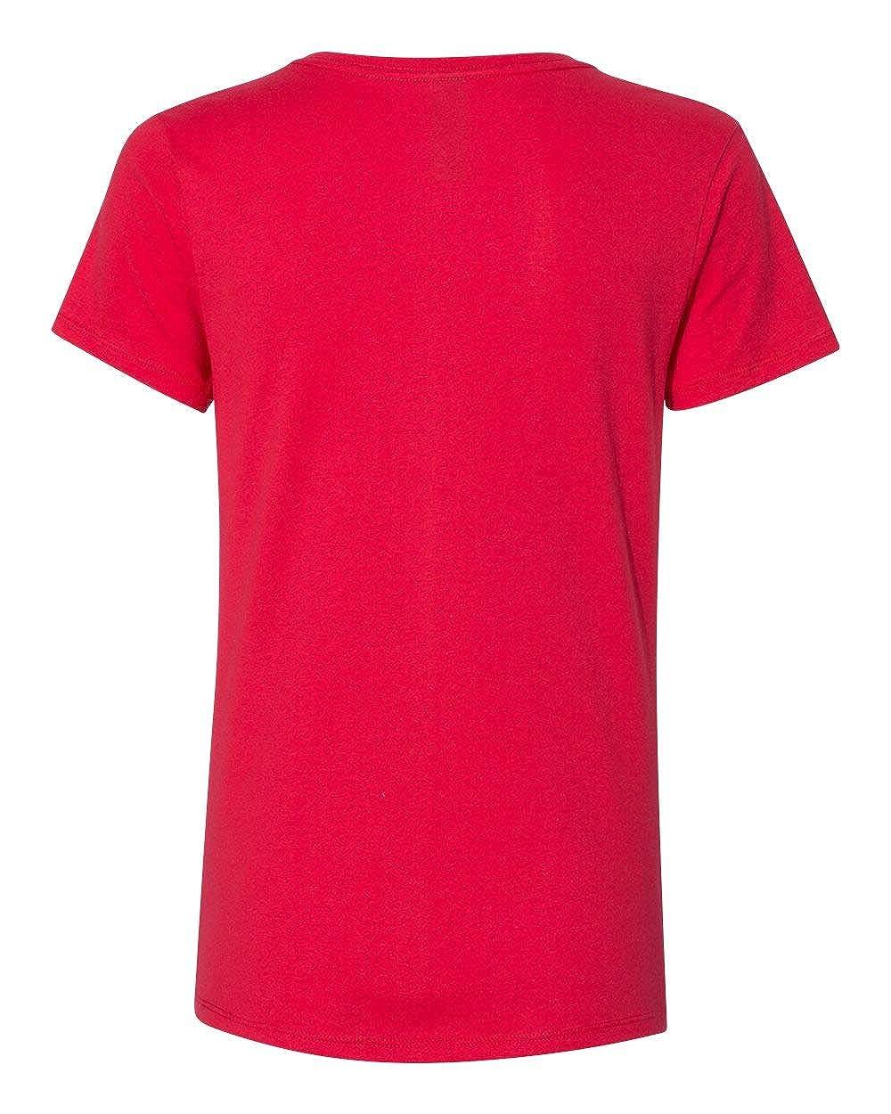 Hanes Womens Nano-T V-Neck T-Shirt