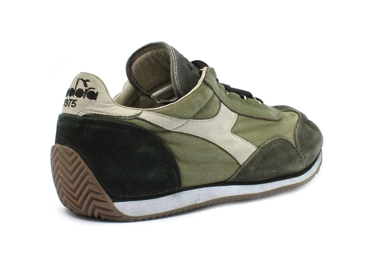 Diadora Sneaker Heritage Equipe SW Dirty Dried Herb/Fog Taglia 44,5 - Colore Verde