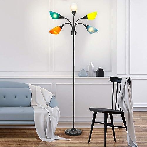 Catalina Lighting 20744-000 Modern 5-Light Floor Lamp