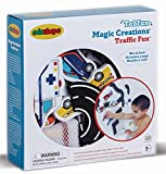 Edushape Magic Creations Bath Play Set, Traffic Fun