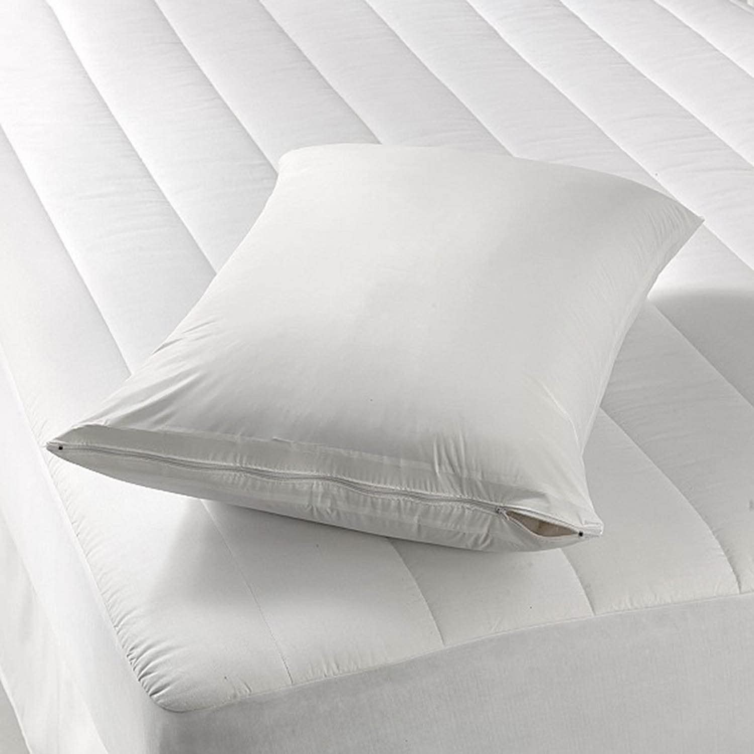 Shop Bedding Waterproof Pillow Protector//Pillowcase Protector with Zipper by Royal Mystique Pillow Covers Vinyl King Size