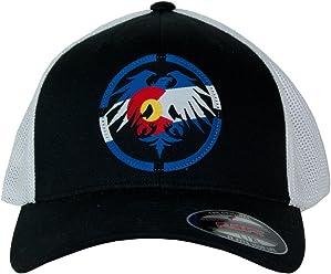 adef1b3e9f0 Never Summer Colorado Patch Flex Fit Trucker Hat