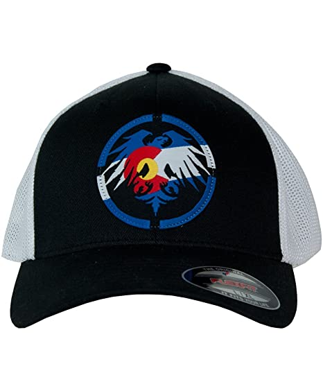 043f7f897f7bc Image Unavailable. Image not available for. Color  Never Summer Colorado  Patch Flex Fit Trucker Hat