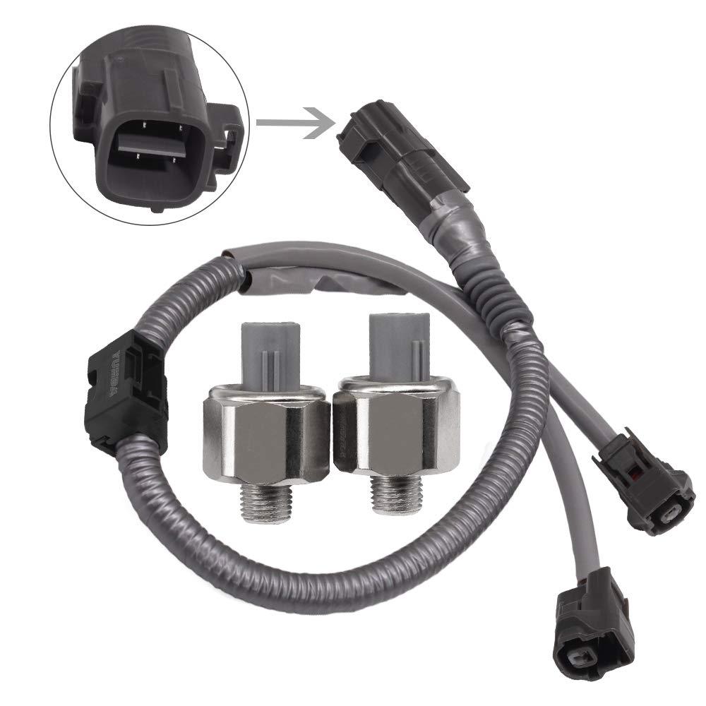 KS159 Knock Sensor Harness Wire,Detonation Knock Sensors /& harness 89615-12090 89615-12050 89615-12040 compatible with Toyota Lexus Avalon Camry YUNDA