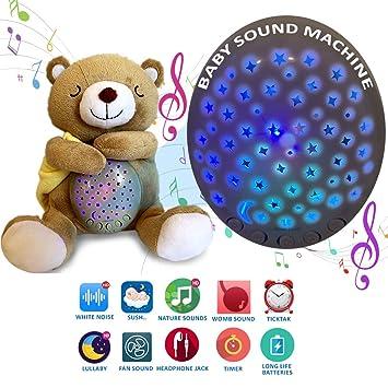 Amazon.com: Máquina de sonido para bebé: máquina de ruido ...