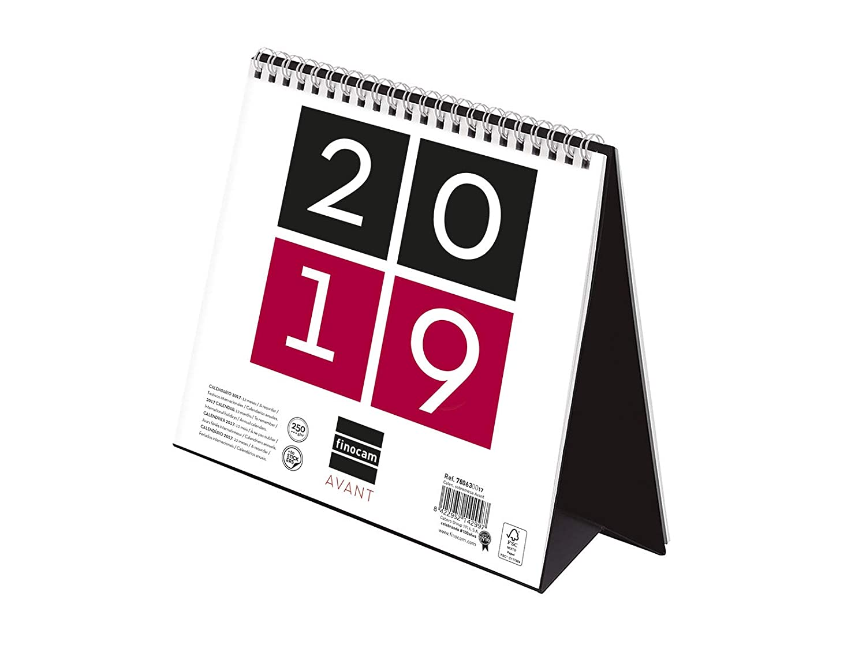 Calendario Repas.Finocam 780630019 Calendario Sobremesa Internacional 2019
