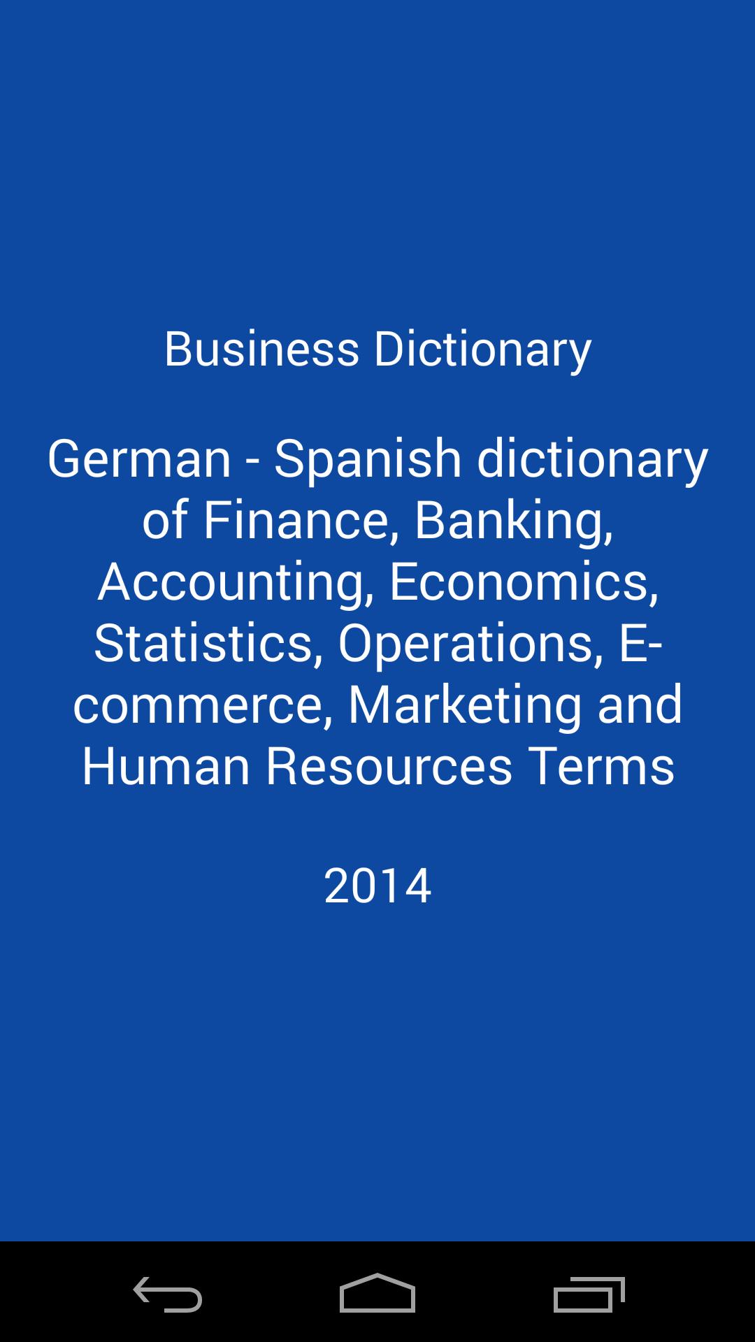 Libertuus Diccionario de negocios - Diccionario Español