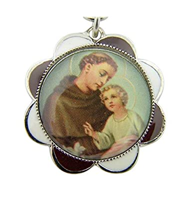 Amazon.com  Religious Gifts Mens Womens Catholic Gift Silver Tone ... 83157d1187