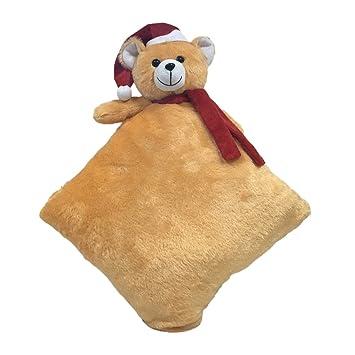 Ultra Santa Teddy Bed Sleeping Cushion Pillow