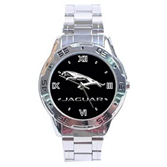 Gifts Stainless Steel XDA032 New Jaguar Car Analogue Men's Watch: Amazon.co.uk: Watches